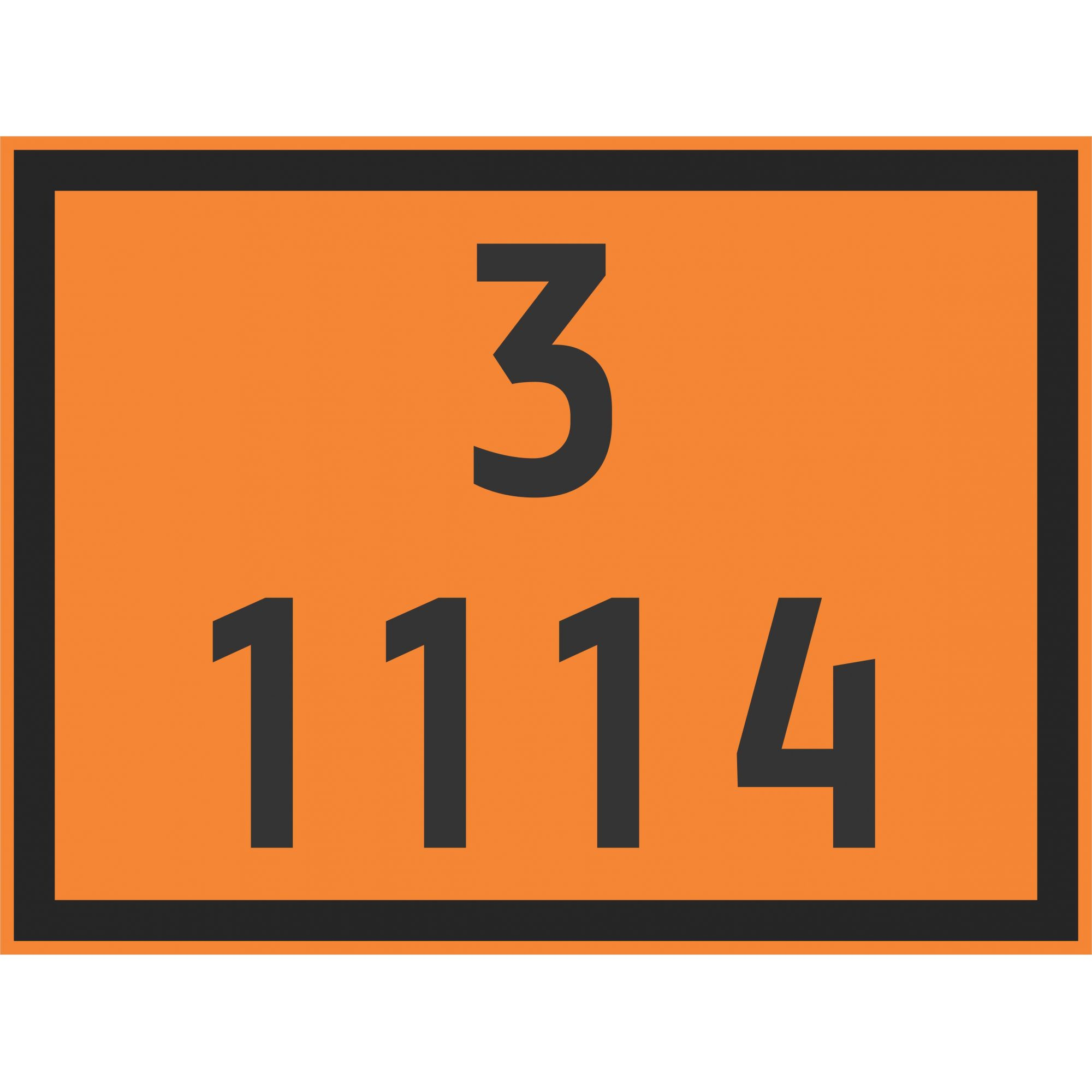 BENZENO 1114  - Towbar Sinalização de Segurança