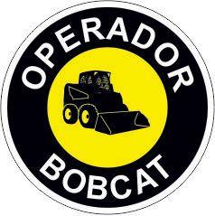 Bottom - Operador bobcat  - Towbar Sinalização de Segurança