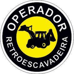 Bottom - Operador retroescavadeira  - Towbar Sinalização de Segurança
