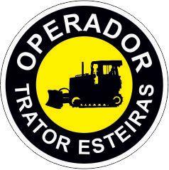 Bottom - Operador trator esteira  - Towbar Sinalização de Segurança