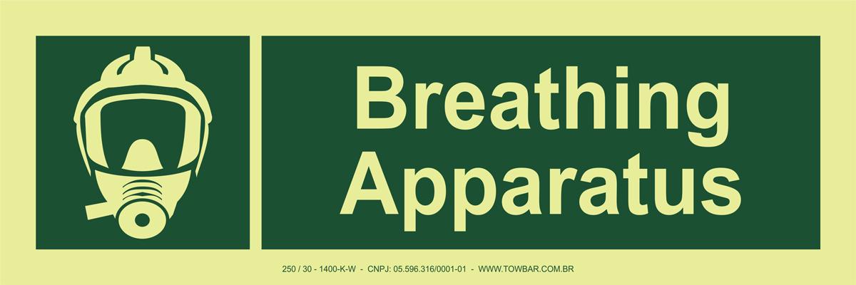 Breathing Apparatus   - Towbar Sinalização de Segurança