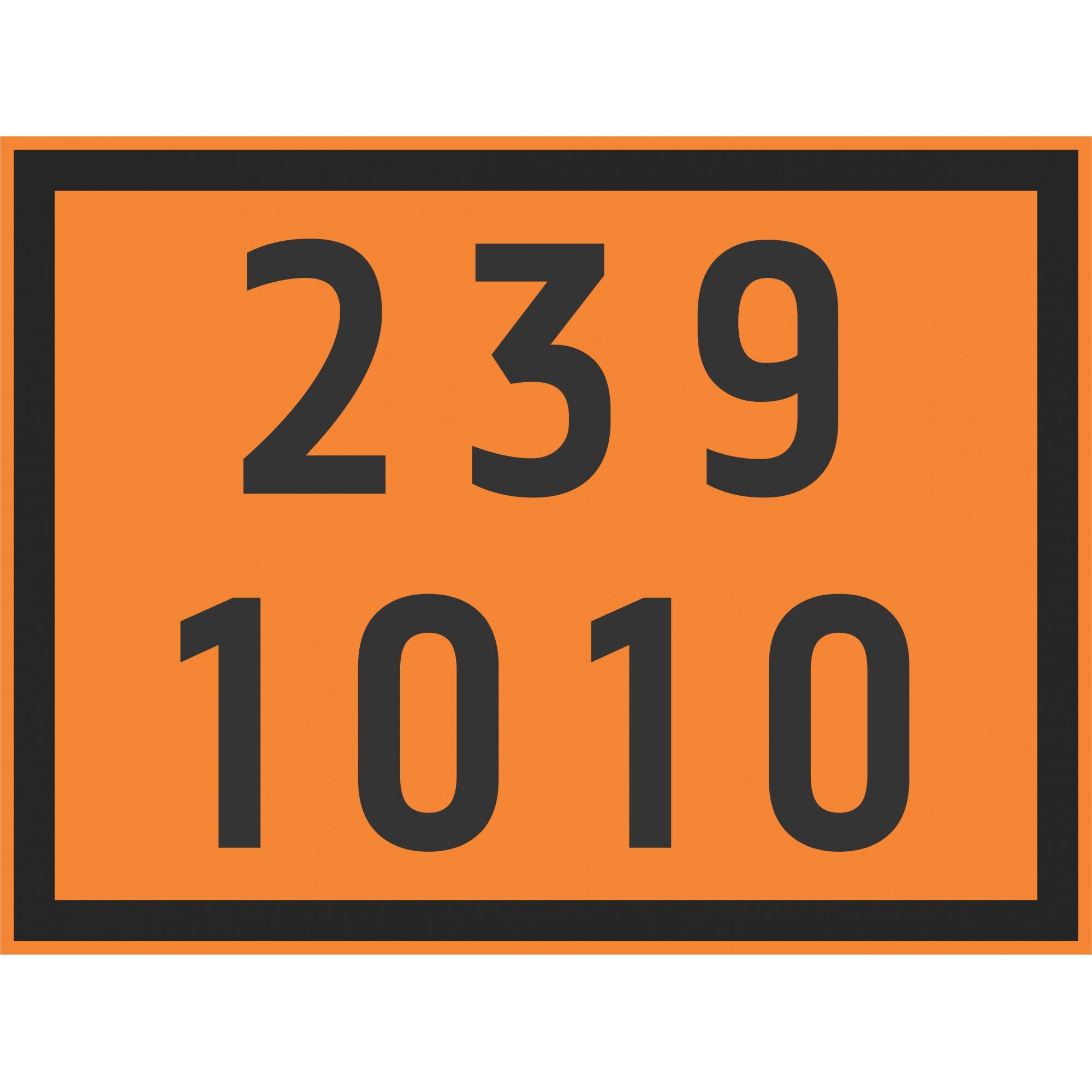 BUTADIENOS 1010  - Towbar Sinalização de Segurança