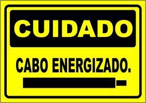 Cabo Energizado  - Towbar Sinalização de Segurança