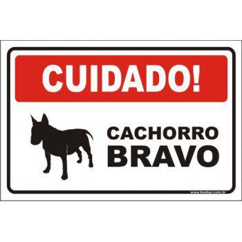 Cachorro bravo  - Towbar Sinalização de Segurança