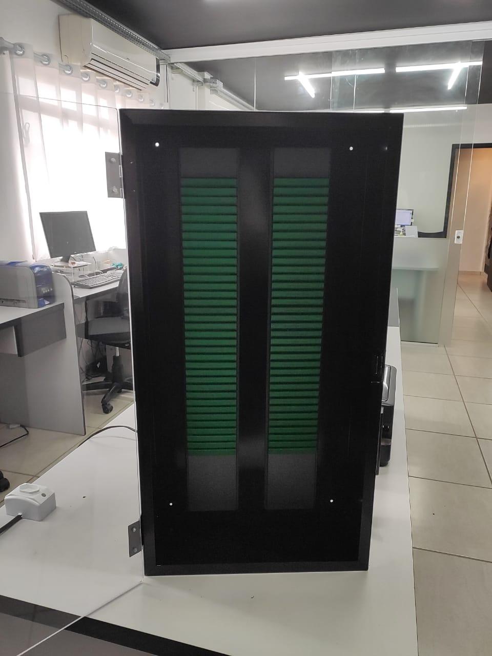 Caixa para suporte kanban  - Towbar Sinalização de Segurança