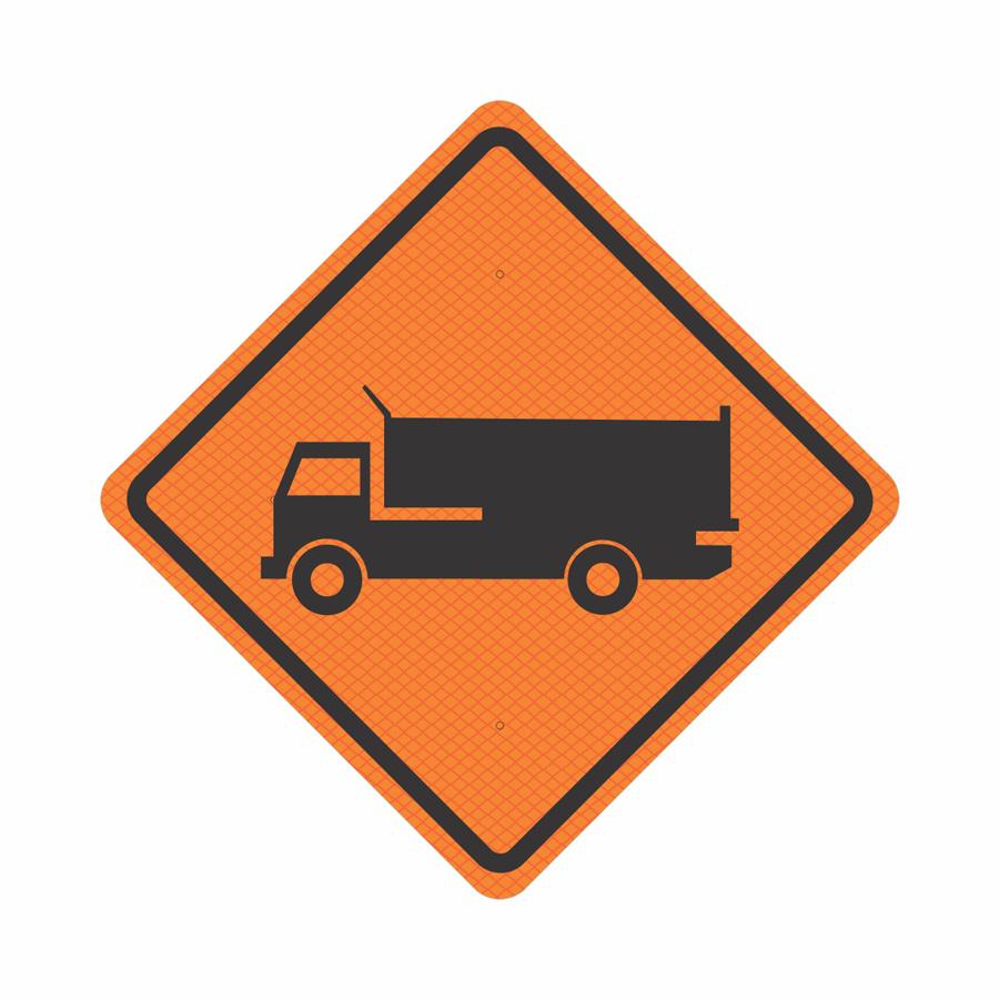 Caminhões na Pista  - Towbar Sinalização de Segurança