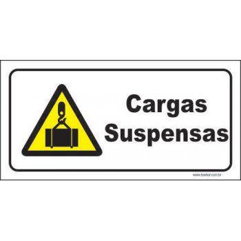 Cargas suspensas  - Towbar Sinalização de Segurança