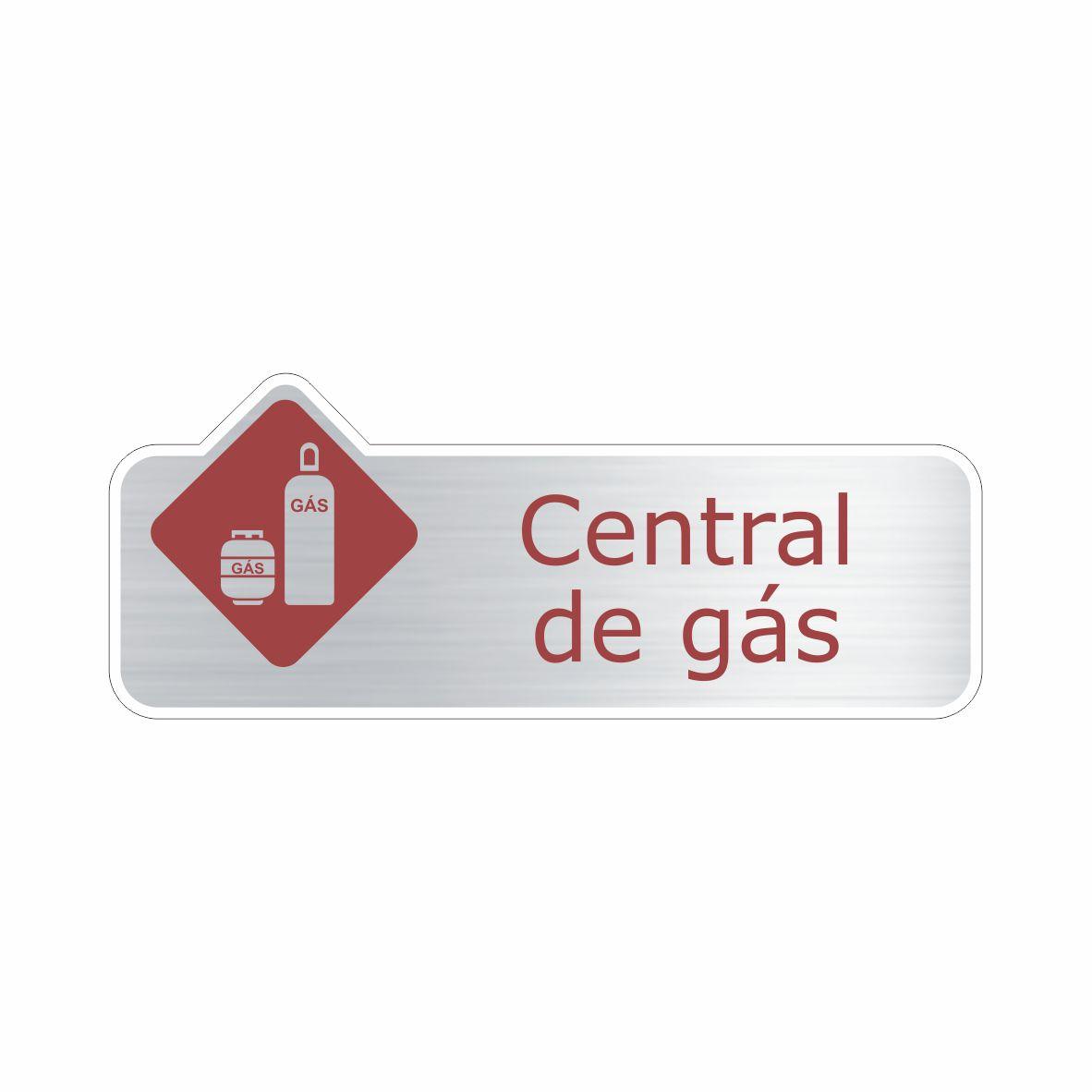 Central de gás  - Towbar Sinalização de Segurança