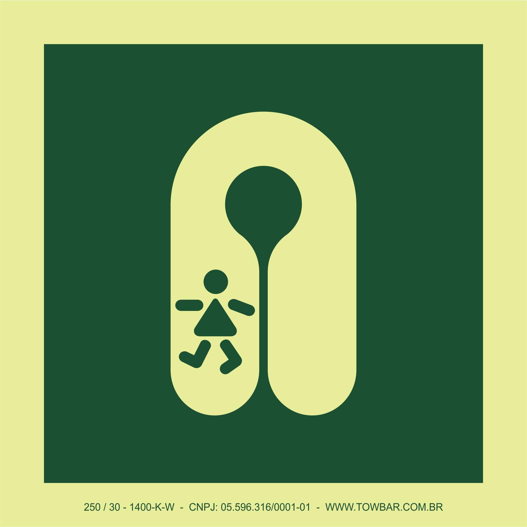 Colete salva vidas para crianças (Childs Lifejacket)  - Towbar Sinalização de Segurança