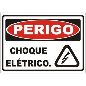 Choque elétrico  - Towbar Sinalização de Segurança