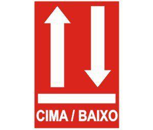 Cima / Baixo  - Towbar Sinalização de Segurança