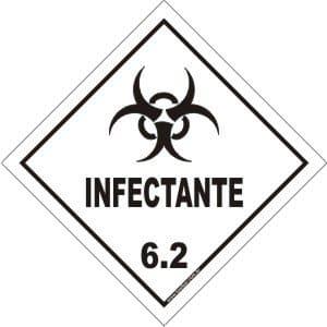 Classe 6 - Infectante 6.2  - Towbar Sinalização de Segurança