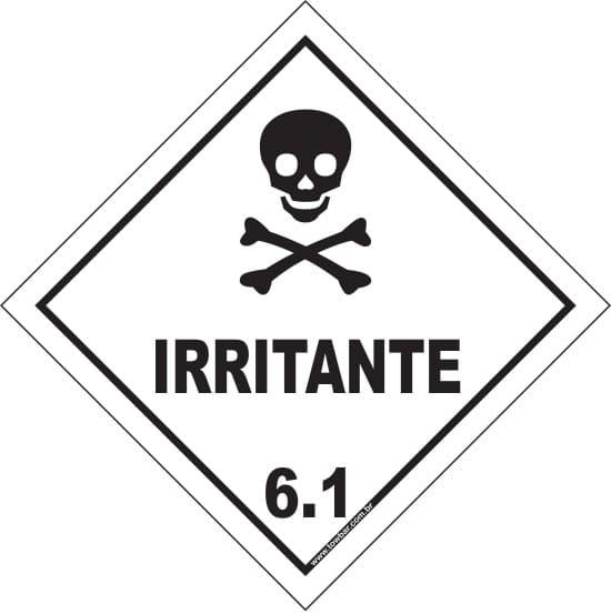 Classe 6 - Irritante 6.1  - Towbar Sinalização de Segurança
