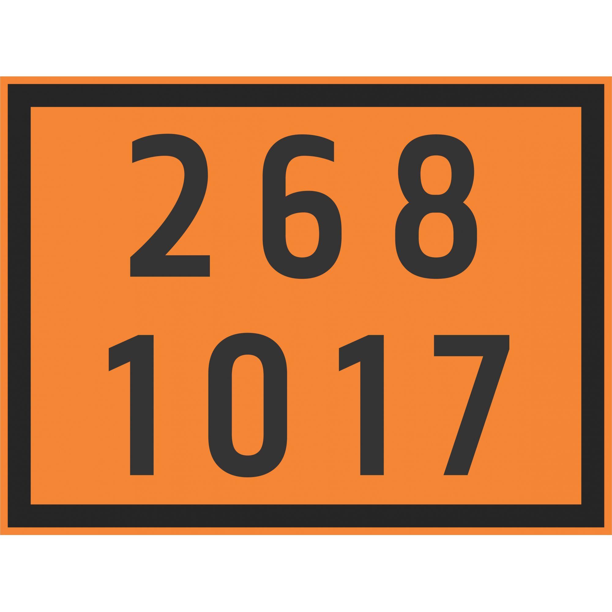 CLORO 1017  - Towbar Sinalização de Segurança