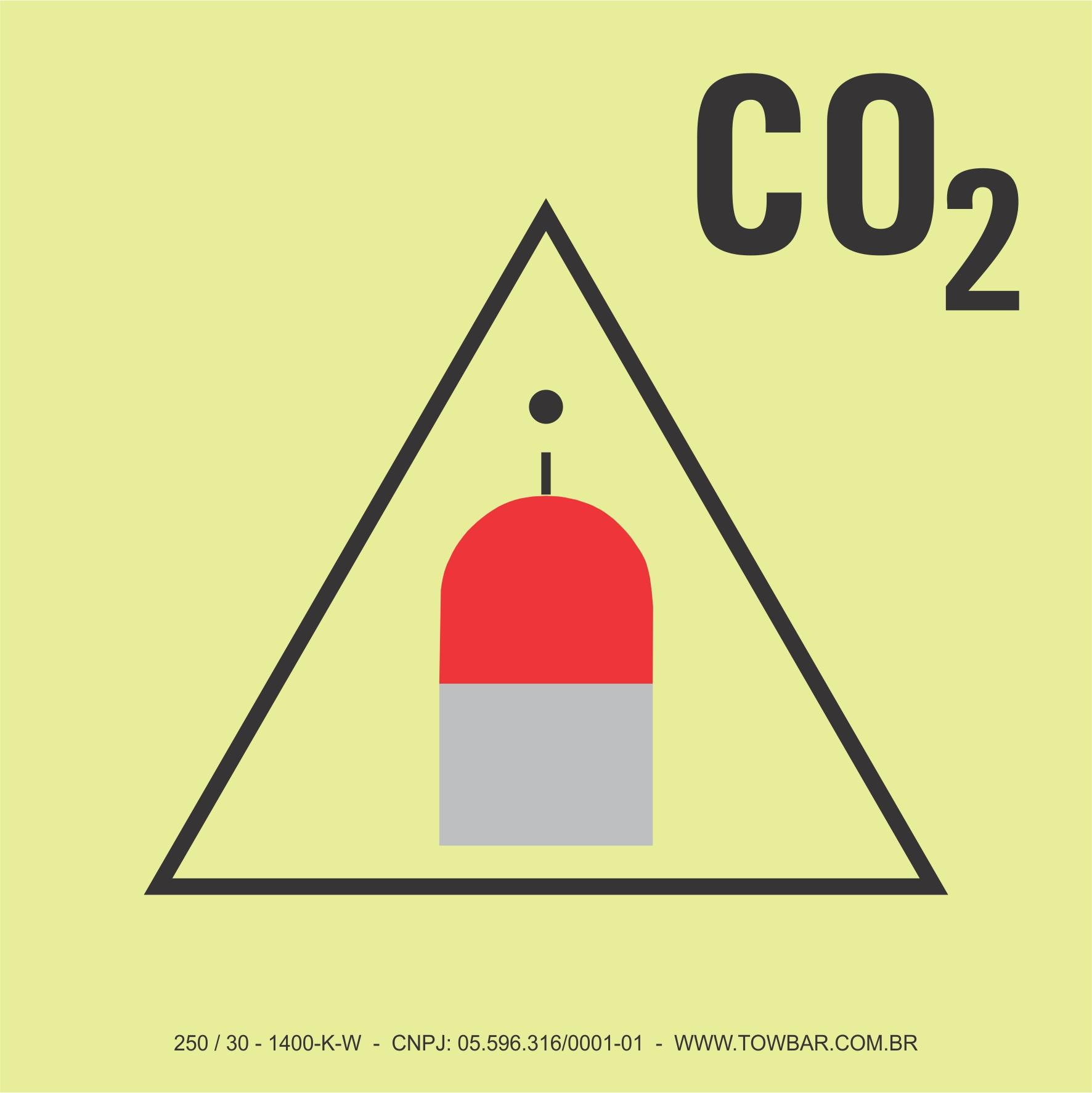 CO2 Remote Release Station  - Towbar Sinalização de Segurança