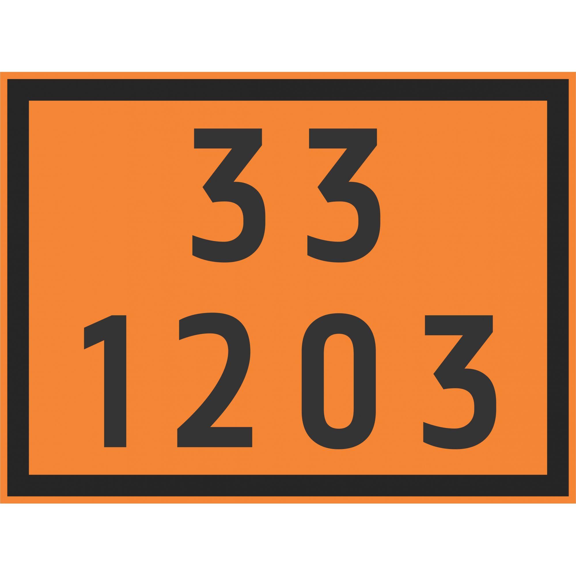 COMBUSTIVEL AUTOMOTOR 1203  - Towbar Sinalização de Segurança