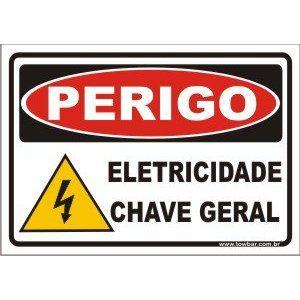 Eletricidade chave geral  - Towbar Sinalização de Segurança