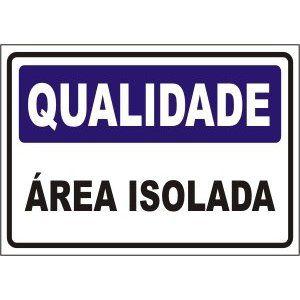 Área isolada  - Towbar Sinalização de Segurança
