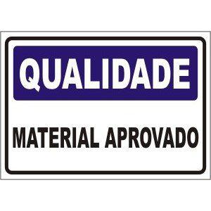 Material aprovado  - Towbar Sinalização de Segurança