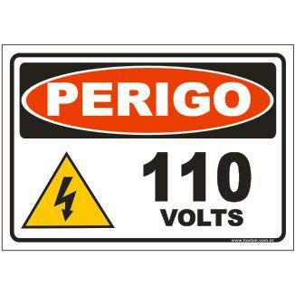 110 volts  - Towbar Sinalização de Segurança