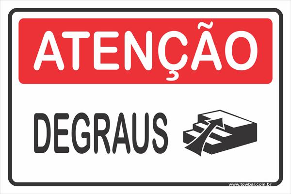 Degraus  - Towbar Sinalização de Segurança