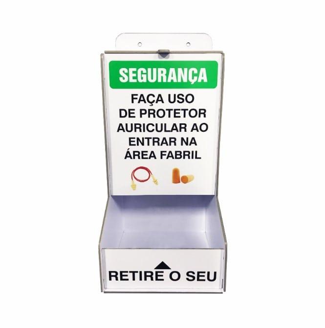 Dispenser para protetor auricular  - Towbar Sinalização de Segurança