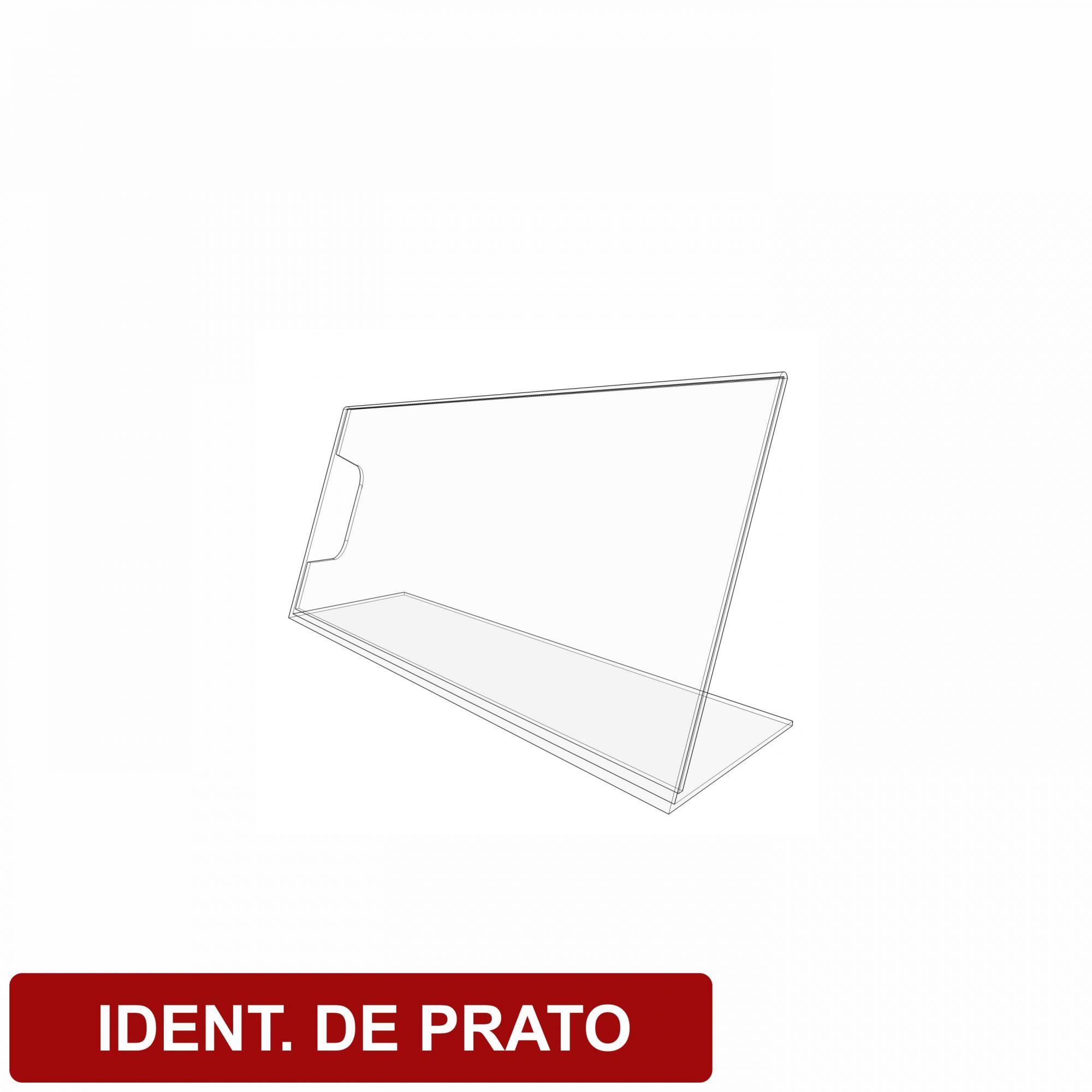 Display identificador de pratos  - Towbar Sinalização de Segurança
