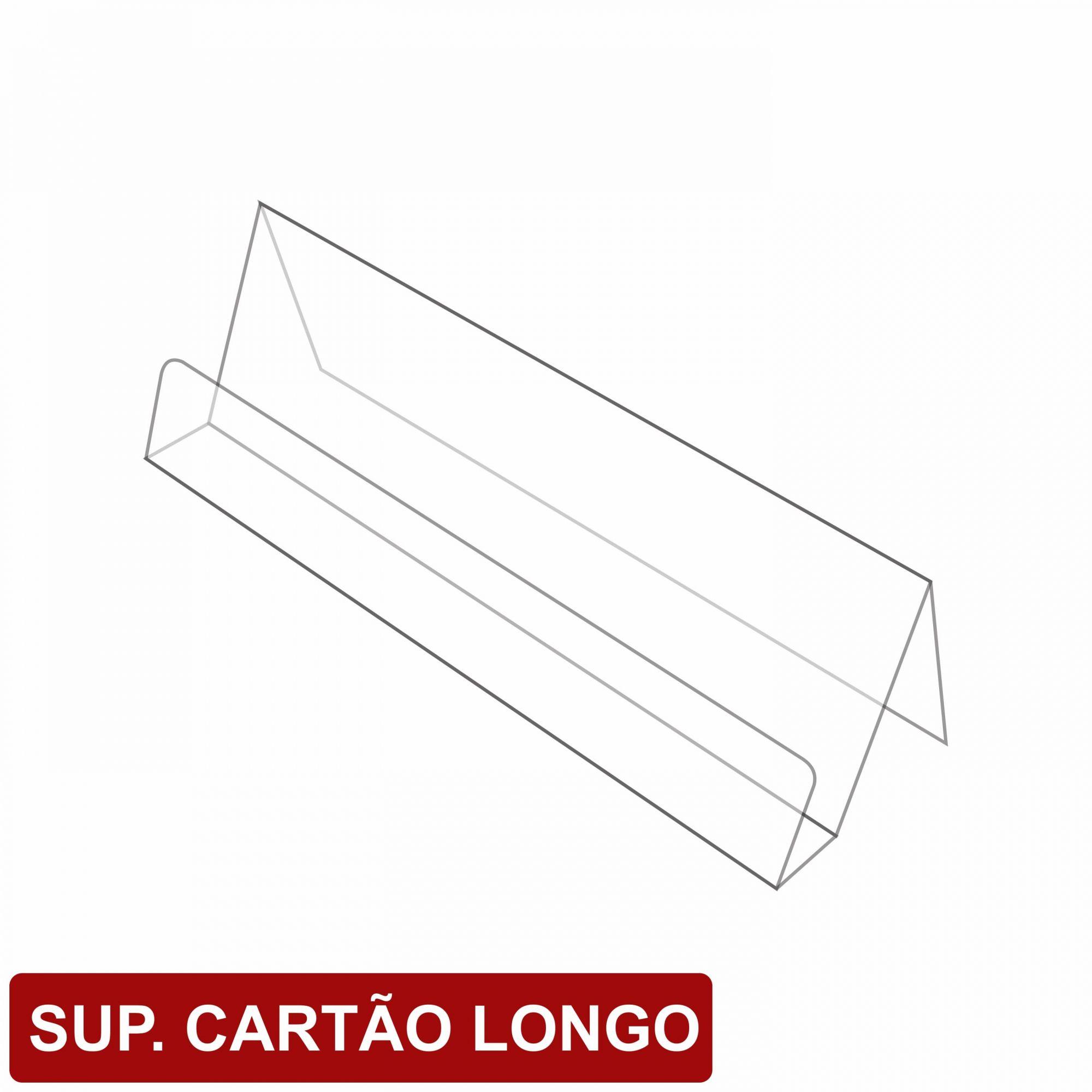 Display suporte para cartão de visitas longo  - Towbar Sinalização de Segurança