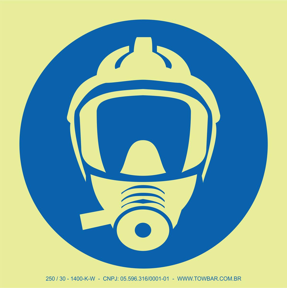 Máscara de Fuga (EEBD)  - Towbar Sinalização de Segurança