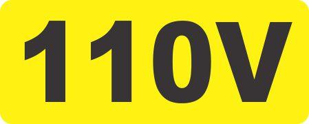 Eletricidade - 110 V  - Towbar Sinalização de Segurança