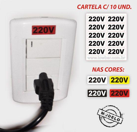 Eletricidade - 220 V  - Towbar Sinalização de Segurança