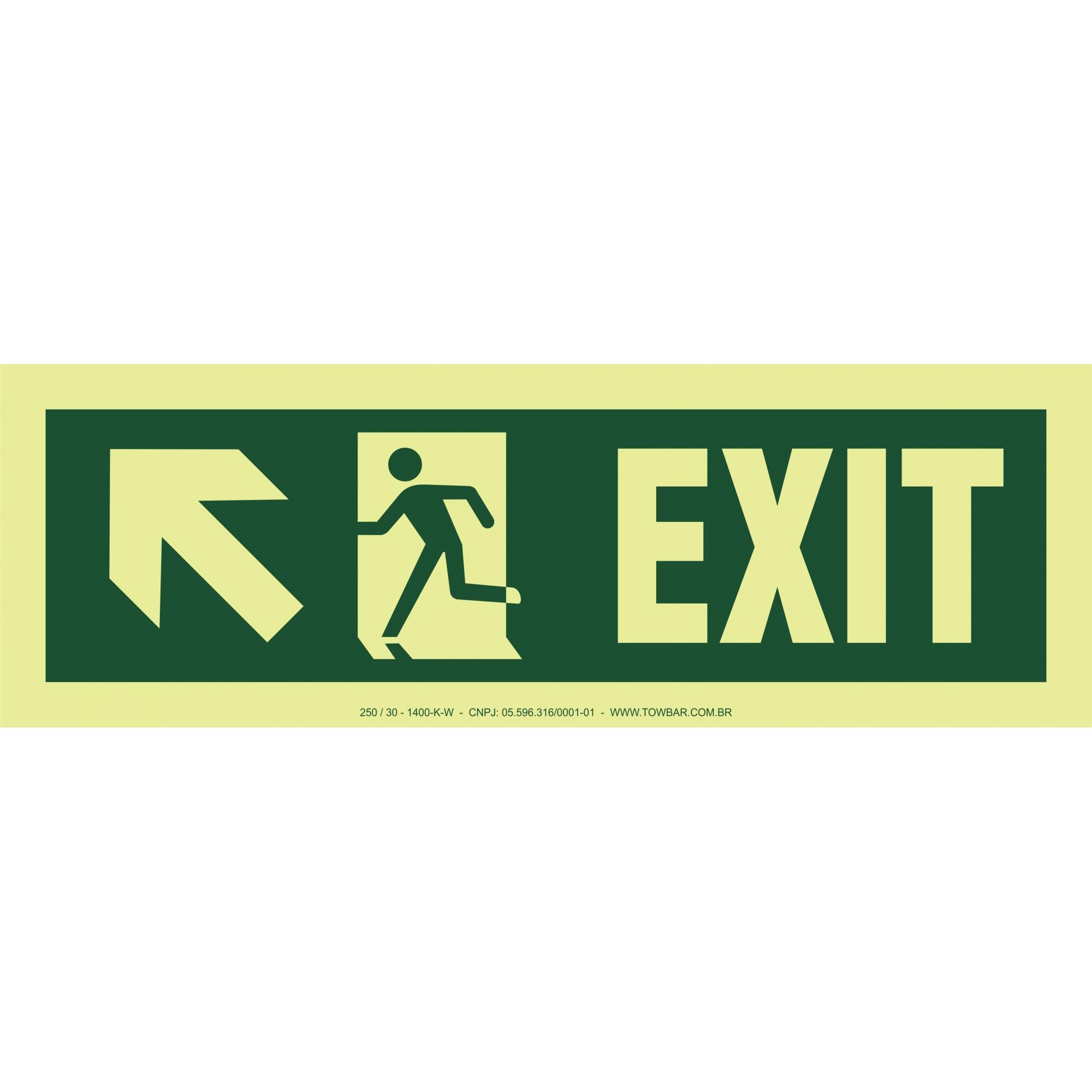 Exit Right-man Run Left-arrow Up/left  - Towbar Sinalização de Segurança