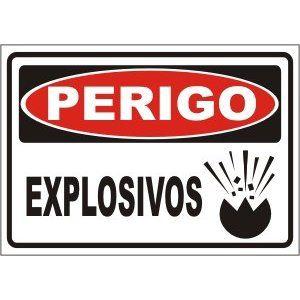 Explosivos  - Towbar Sinalização de Segurança