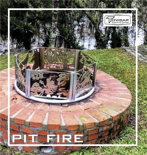 Fire Pit  - Towbar Sinalização de Segurança