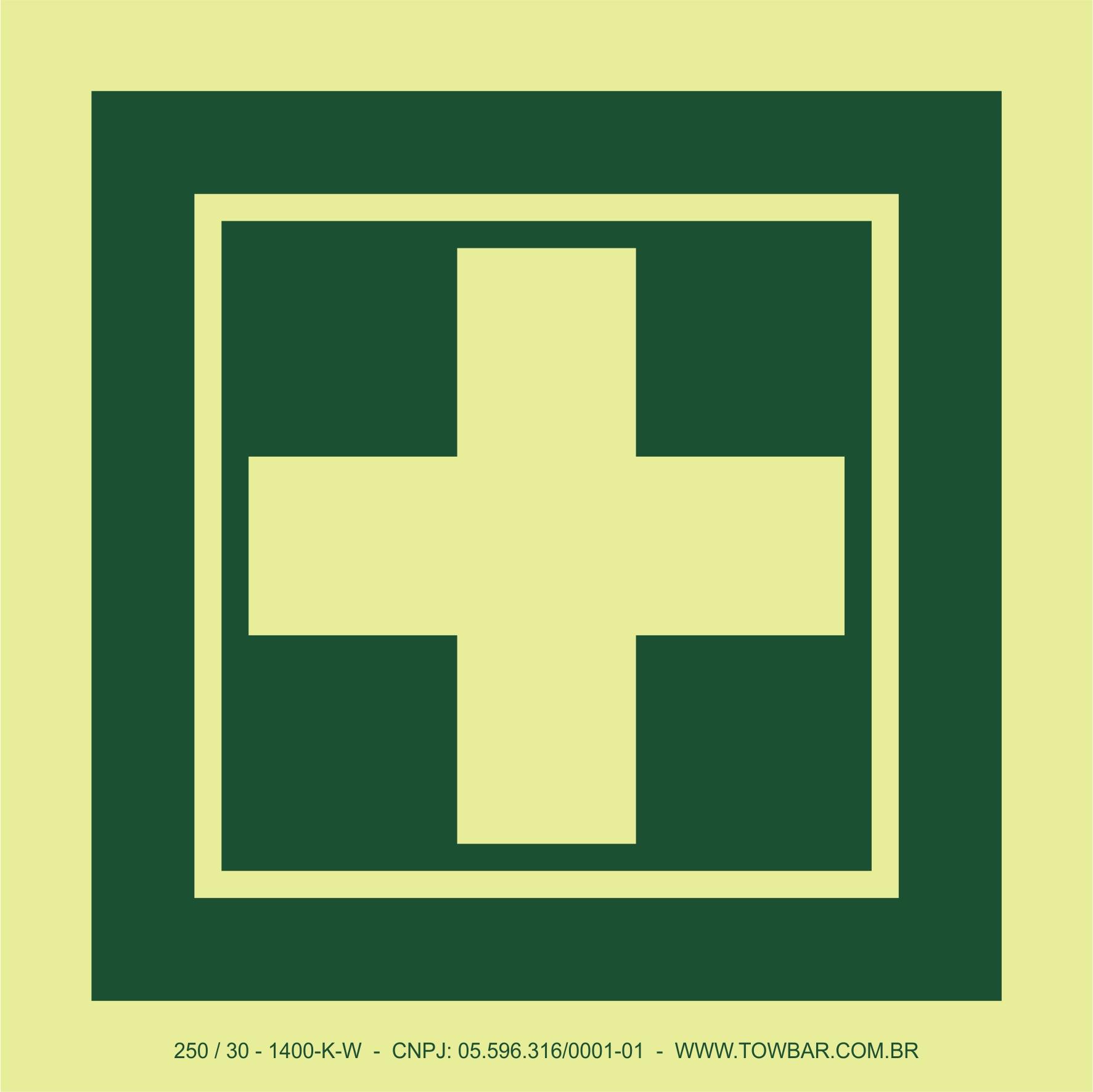 First Aid Box  - Towbar Sinalização de Segurança