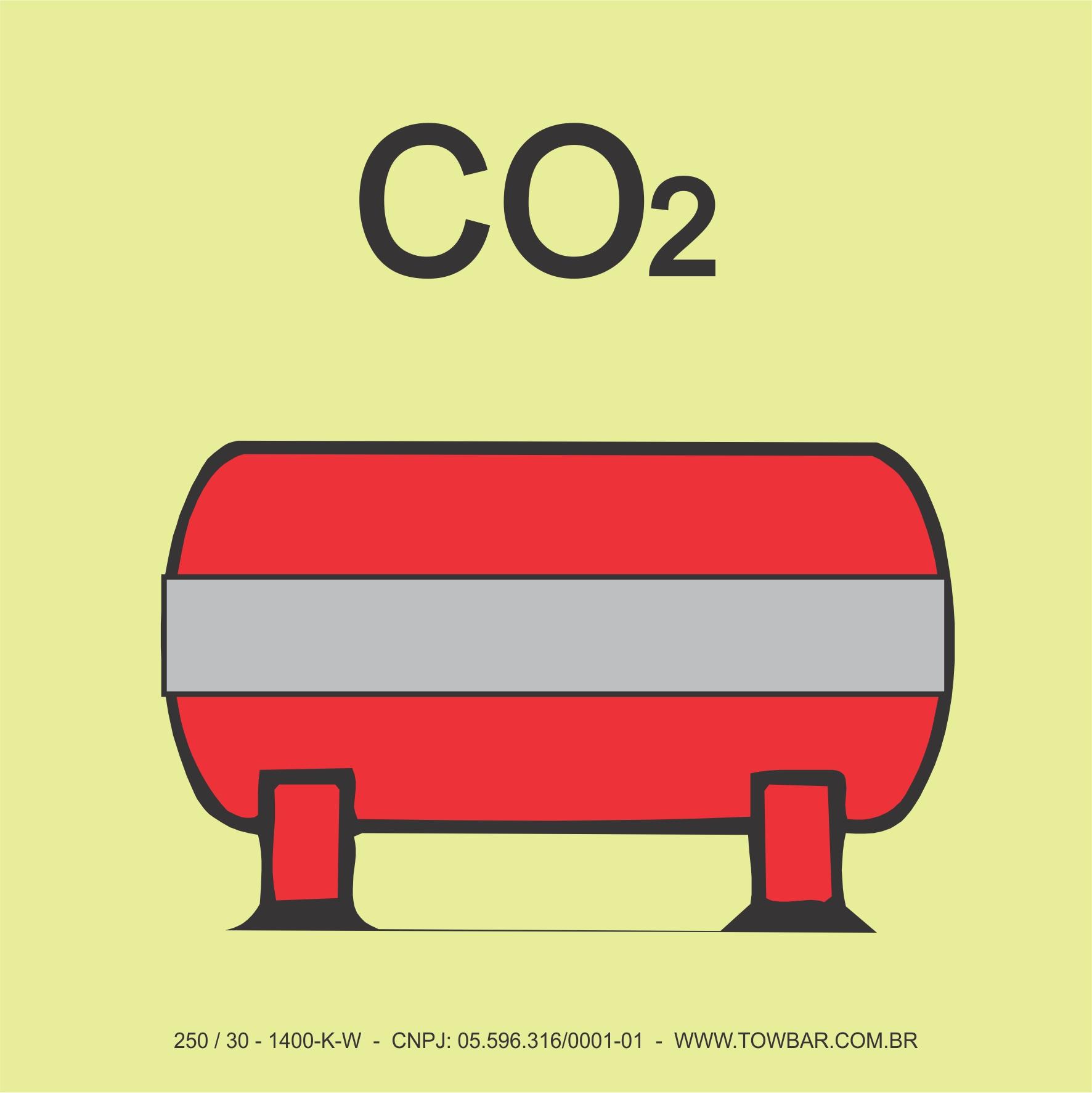 Fixed Fire Extinguishing Installation (CO2)  - Towbar Sinalização de Segurança