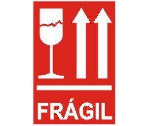 Frágil  - Towbar Sinalização de Segurança
