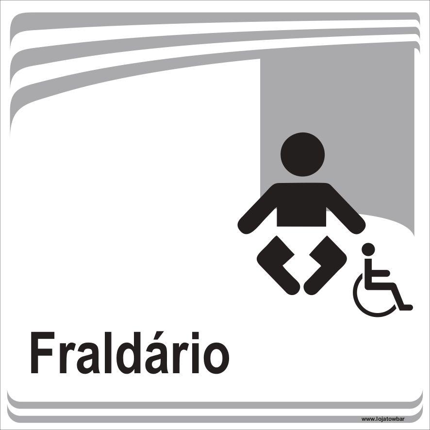 Fraldário inclusivo  - Towbar Sinalização de Segurança