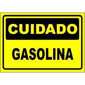Gasolina  - Towbar Sinalização de Segurança