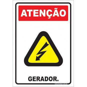 Gerador.  - Towbar Sinalização de Segurança
