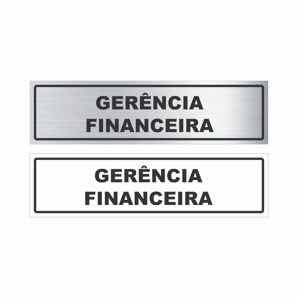 Gerência financeira  - Towbar Sinalização de Segurança