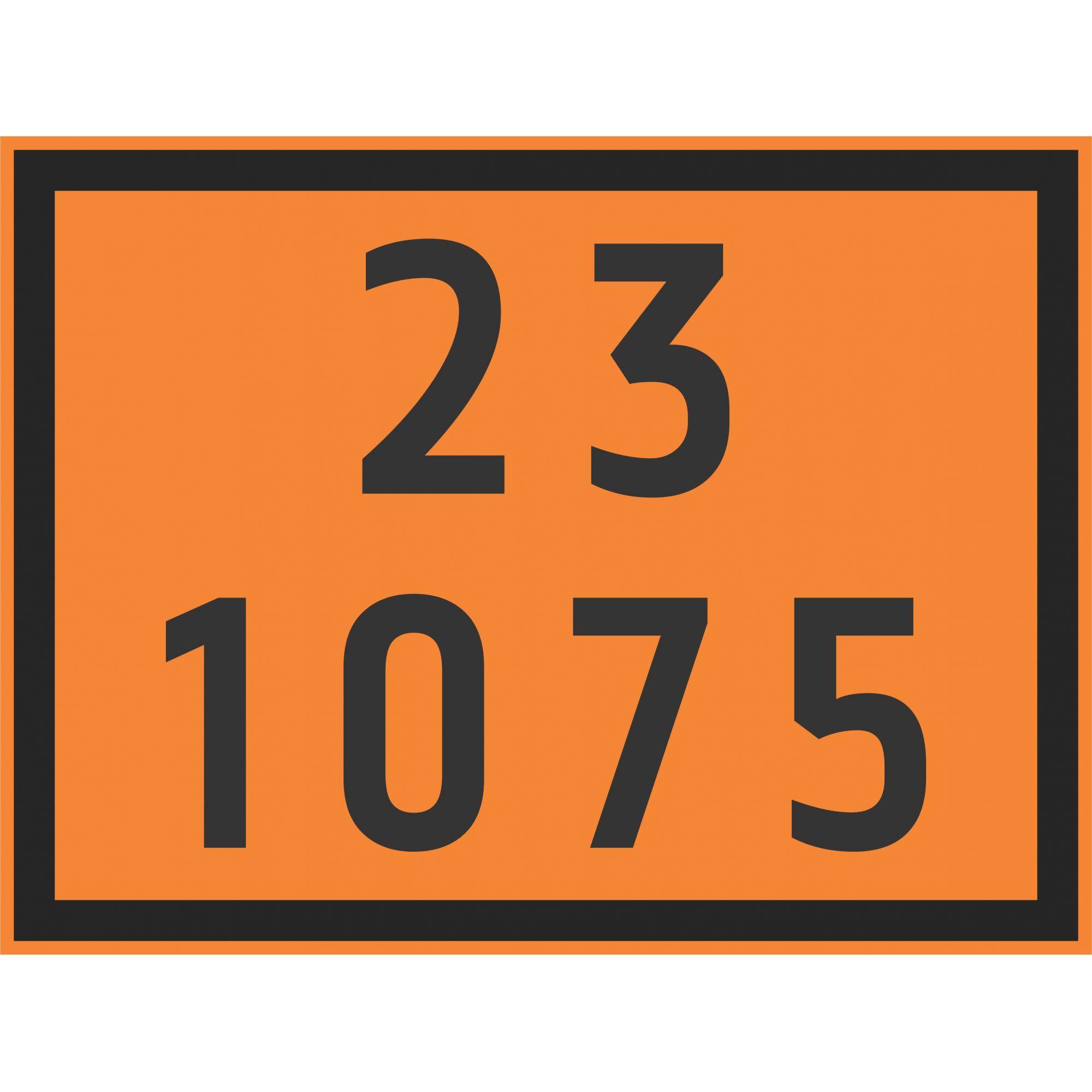 GLP 1075  - Towbar Sinalização de Segurança