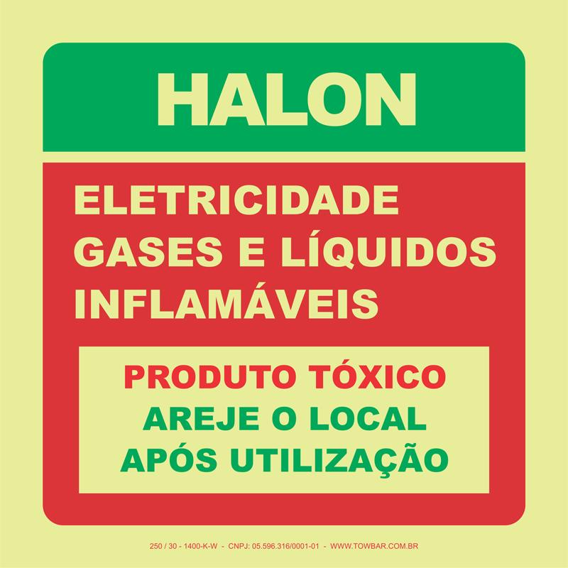 Halon  - Towbar Sinalização de Segurança