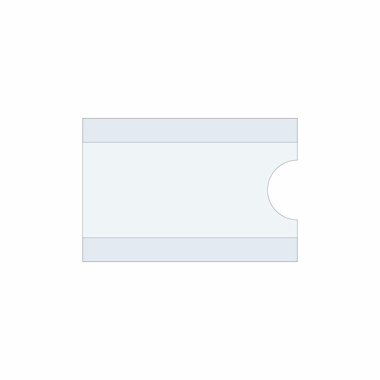 Identificador de gaveta tipo C  - Towbar Sinalização de Segurança