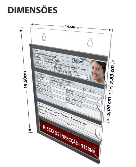 Identificador de leito  - Towbar Sinalização de Segurança
