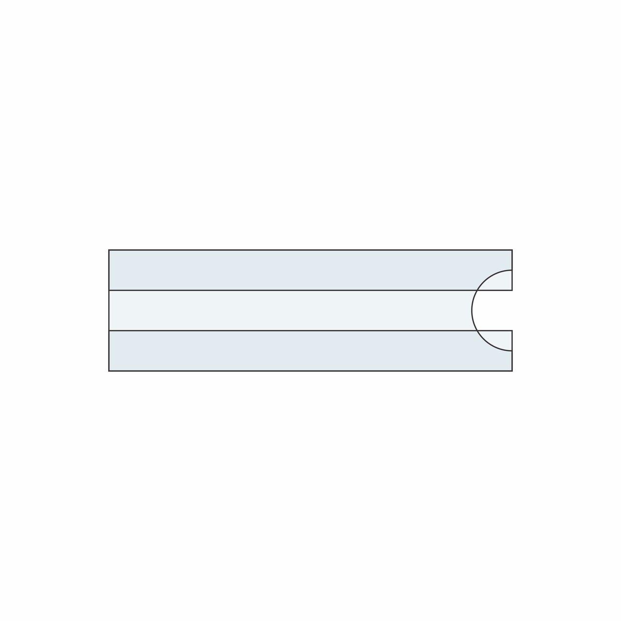 Identificador de prateleira tipo c  - Towbar Sinalização de Segurança