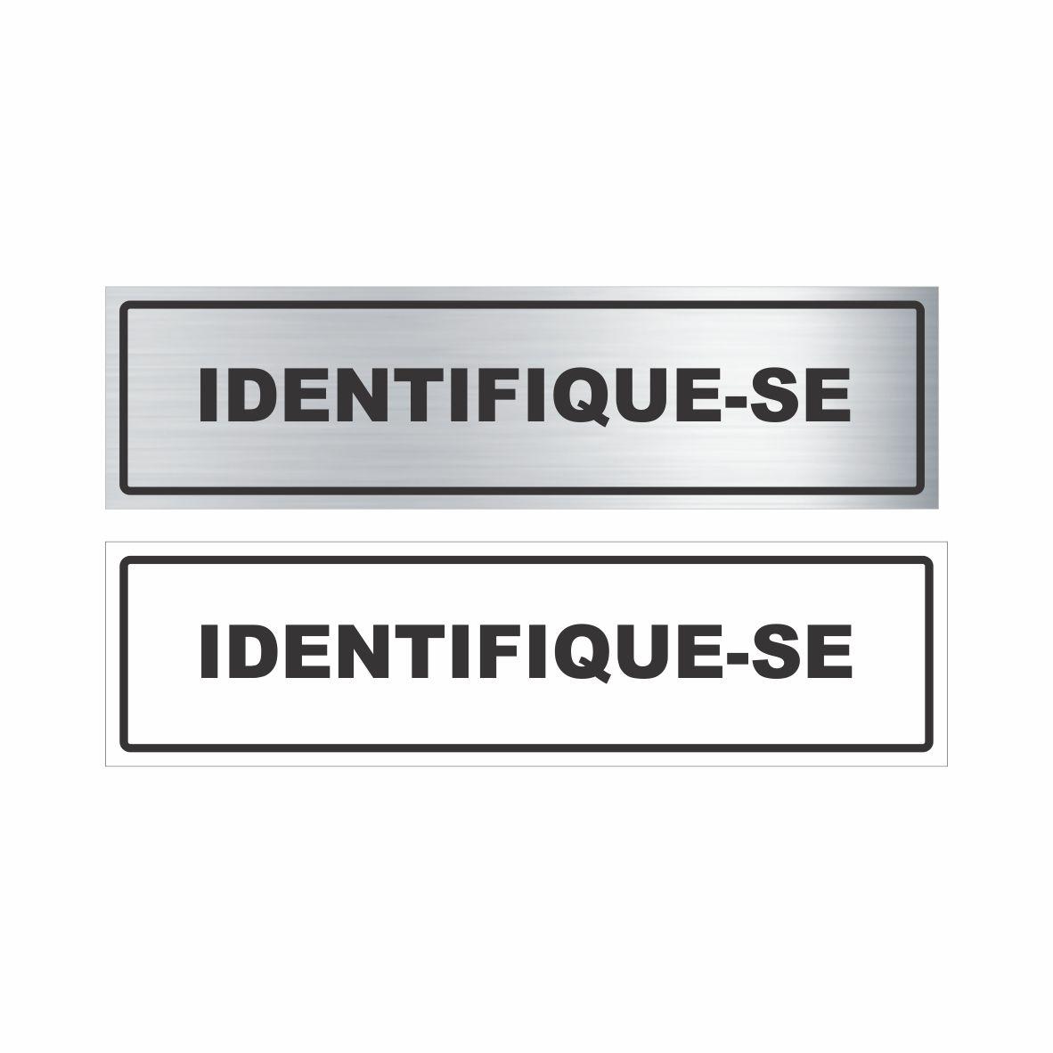 Identifique-se  - Towbar Sinalização de Segurança