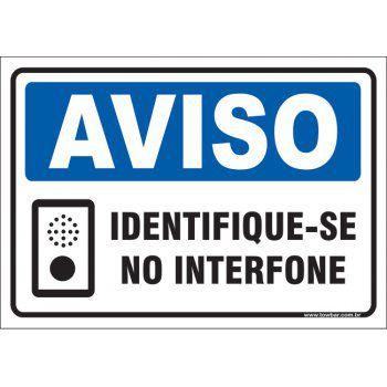 Identifique-se No Interfone  - Towbar Sinalização de Segurança