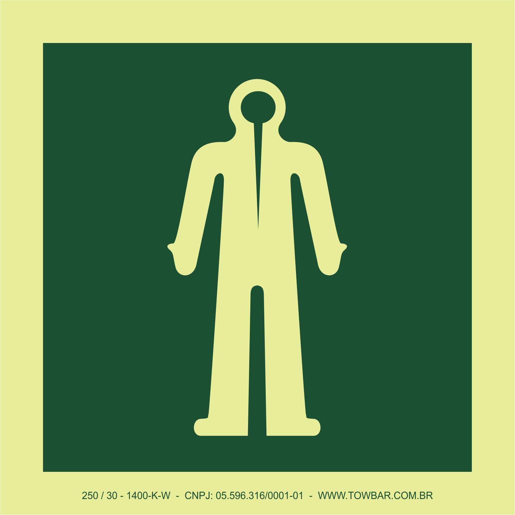 Roupa de Imersão (Immersion Suit)  - Towbar Sinalização de Segurança