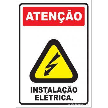 Instalação Elétrica.  - Towbar Sinalização de Segurança